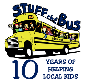 Stuff the Bus 2018 - 10 years of helping local kids