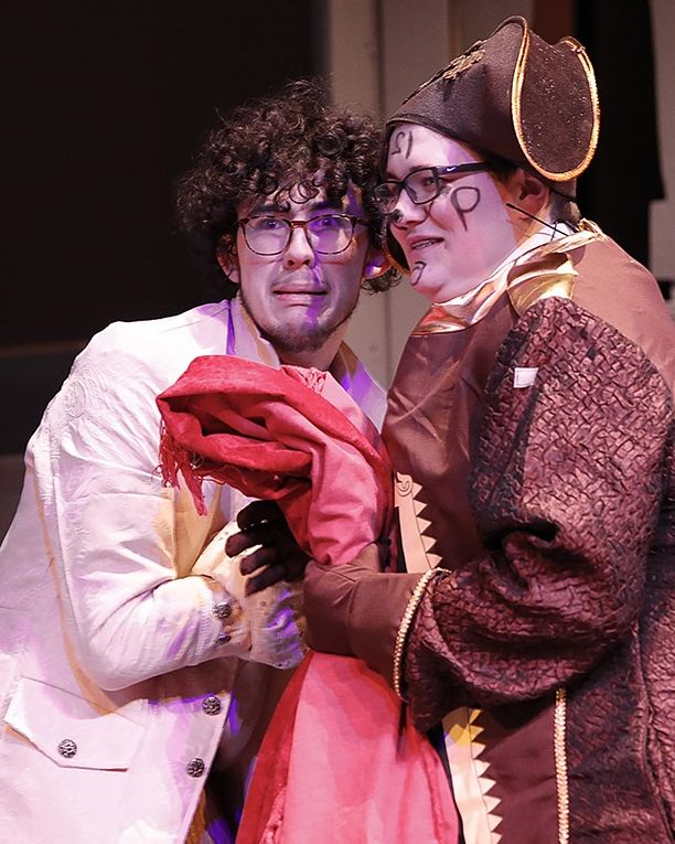 Sam Leeper plays Lumiere in Pullman High School Beauty and Beast